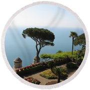 Ravello Round Beach Towel