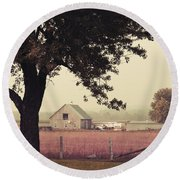 Rawdon's Countrylife Round Beach Towel by Aimelle