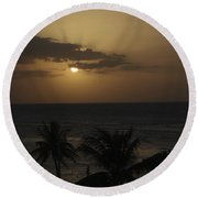 Round Beach Towel featuring the photograph Reaching For Heaven by Melanie Lankford Photography