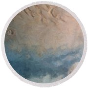 Red Planet 1 Round Beach Towel