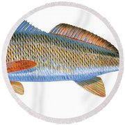 Redfish Round Beach Towel