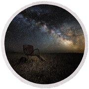 Redneck Planetarium Round Beach Towel