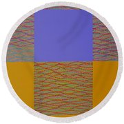 Reflection Round Beach Towel by Kyung Hee Hogg