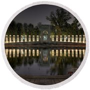 Reflections Of The Atlantic Theater Round Beach Towel