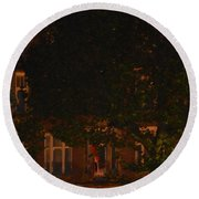 Rembrandt Square Round Beach Towel