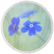 Remember Me Round Beach Towel