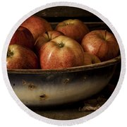 Remembering Autumn Round Beach Towel by Amy Weiss
