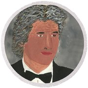Richard Gere Round Beach Towel