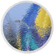 Ripples Round Beach Towel