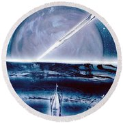 Riptide  Round Beach Towel