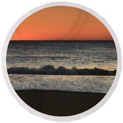 Rising To The Occasion - Jersey Shore Round Beach Towel