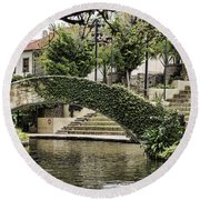 Riverwalk Charm Round Beach Towel