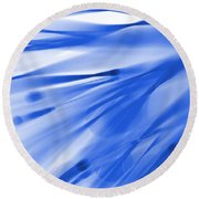 Roadhouse Blues Round Beach Towel