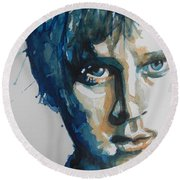 Rob Thomas  Matchbox Twenty Round Beach Towel