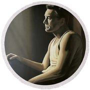 Robert De Niro Round Beach Towel