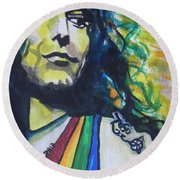 Robert Plant.. Led Zeppelin Round Beach Towel