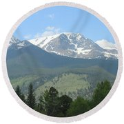 Rocky Mountain National Park - 2 Round Beach Towel