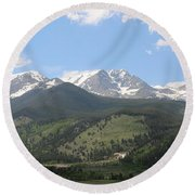 Rocky Mountain National Park - 3  Round Beach Towel