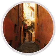 Romano Cartolina Round Beach Towel