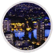 Romantic Kits Beach - Mdxxxviii Round Beach Towel