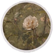 Rose Garden Round Beach Towel