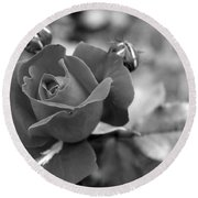 Rose Of Grace Round Beach Towel
