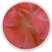 Rose Petals Round Beach Towel by Stephen Anderson
