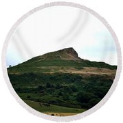 Roseberry Topping Hill Round Beach Towel