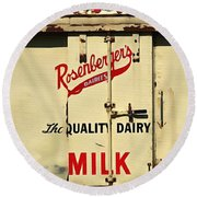 Rosenberger's - Dairy Milk  Round Beach Towel