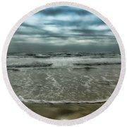 Rough Surf Round Beach Towel
