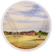 Royal Lytham And St Annes Golf Course Round Beach Towel