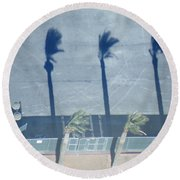 Royal Procession Round Beach Towel