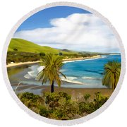 Rufugio Round Beach Towel