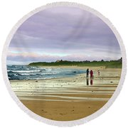 Run Off Round Beach Towel