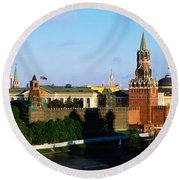 Russia, Moscow, Red Square Round Beach Towel by Panoramic Images