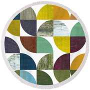 Rustic Rounds 3.0 Round Beach Towel