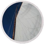 Sail Away With Me Round Beach Towel by Photographic Arts And Design Studio