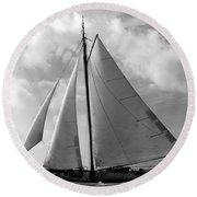 Sail By Round Beach Towel