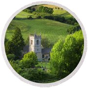 Saint Andrews - Cotswolds Round Beach Towel