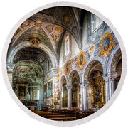 Saint George Basilica Round Beach Towel