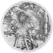 Saint John Round Beach Towel