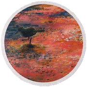 Sandpiper Cape May Round Beach Towel