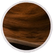 Sandstone Flow Round Beach Towel