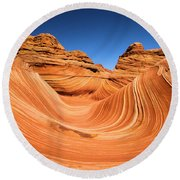 Sandstone Surf Round Beach Towel