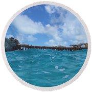 Sapona Bahamas Round Beach Towel