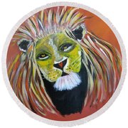 Savannah Lord Round Beach Towel
