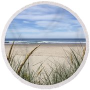 Scenic Oceanview Round Beach Towel