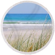 Round Beach Towel featuring the photograph Sea Breeze by Jocelyn Friis