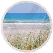 Sea Breeze Round Beach Towel by Jocelyn Friis