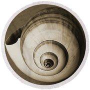 Seashells Spectacular No 25 Round Beach Towel